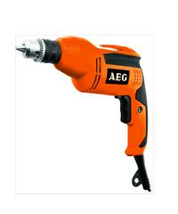 AEG สว่านไฟฟ้า 380W B 308 RE ดำ-ส้ม