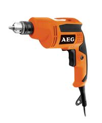 AEG สว่านไฟฟ้า 6 มม. 350 วัตต์  B350RE ส้ม