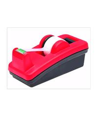 3M แท่นตัดเทปแบบตั้งโต๊ะ สีทูโทน สีดำ แดง C-4210 แดง-ดำ