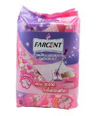Farcent รีฟิลผ้าแห้งไฟฟ้าสถิตย์  กลิ่นฟลอรัล W-702 P สีชมพู