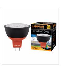 LAMPTAN หลอดเดย์ไลท์ 6w  LED MR16 COMET 220V