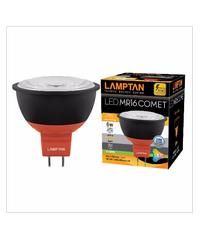 LAMPTAN หลอด LED mr16 comet 6w วอร์มไวท์ LED MR16 COMET 220V