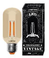 LAMPTAN หลอดแอลอีดี วินเทจ 4วัตต์  LED vintage Oval