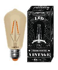 LAMPTAN หลอด แอลอีดี วินเทจ (เดโก) 4วัตต์ LED vintage (DECO)