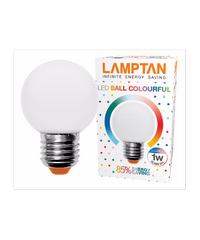 LAMPTAN หลอด LED บอล คัลเลอร์ฟูล 1w LED ball colourful