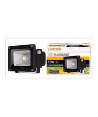 LAMPTAN โคม LED floodlight 10w แสงวอร์มไวท์ LED FLOOD LIGHT