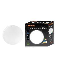 LAMPTAN โคมซาลาเปาแอลอีดี สตาร์ 24W วอร์มไวท์ LED Ceiling Lamp
