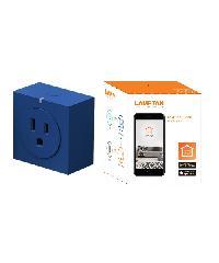 LAMPTAN ปลั๊กสมาร์ทวายฟายชอคเกท Smart wifi scoket สีน้ำเงิน