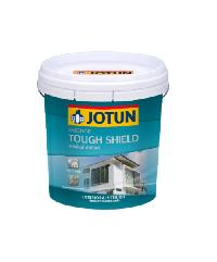 JOTUN สีทาภายนอกชนิดกึ่งเงา ๋Jotatough Hisheld  เอสเชนส์ ทัฟชิลด์ เบส A ขนาด 9 ลิตร ขาว