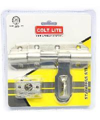 COLT กลอนขวางสแตนเลส #3034 4 สีโครเมี่ยม