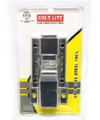 COLT กลอนห้องน้ำ #008 SS รุ่นแผง สีโครเมี่ยม