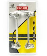 COLT ขอสับ COLT LITE #016 6 ขอสับ COLT LITE #016 6 สีโครเมี่ยม