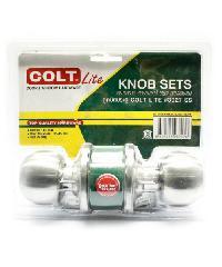 COLT ลูกบิดประตู COLT LITE #3027 SS รุ่นแผง (ร่องกุญแจเป็นร่อง YALE) ลูกบิดประตู COLT LITE #3027 SS รุ่นแผง (ร่องกุญแจเป็นร่อง YALE) สีโครเมี่ยม