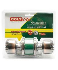 COLT ลูกบิดห้องน้ำ COLT LITE K586 AC รุ่นแผง - สีน้ำตาลอ่อน