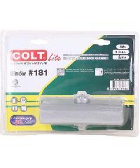COLT โช๊คอัพ COLT LITE 181 สีเงิน 2จังหว่ะ  รุ่นแผง (30 kg)