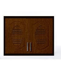 Polywood ตู้แขวนคู่ M-SERIES Nature ขนาด 86x66x34 cm.  M-11  สีโอ๊ค