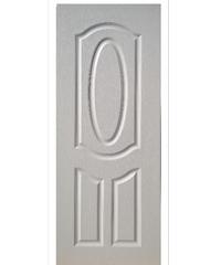 BWOOD ประตู Eco-Series4 บานทึบ  80x200 Eco-Series BEN002 ขาวเจาะ