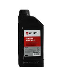WUERTH น้ำมันเครื่องยนต์ Semi Synthetic ULTRA 1 ลิตร  10W-40 สีดำ