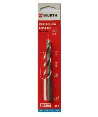 WUERTH ดอกสว่าน เจาะเหล็ก ขนาด 8.0 mm. DIN 338 HSS 8.0 mm.