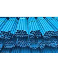 "Power Plus ท่อพีวีซี(8.5) 1"" ปลายเรียบ  สีฟ้า"