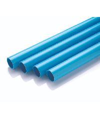 "Power Plus ท่อพีวีซี(8.5) 1.1/2"" ปลายเรียบ  สีฟ้า"