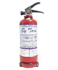BY TORA ถังดับเพลิงชนิดผงเคมีแห้ง 2LB 1A:1BR ขาว-แดง