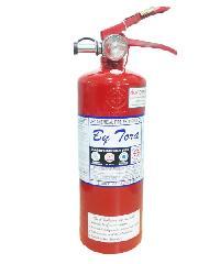 BY TORA ถังดับเพลิงชนิดผงเคมีแห้ง 5LB 1A:2BR ขาว-แดง