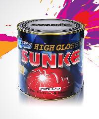 SUNKE สีเคลือบเงา G390 สีเทา