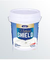 NATURAL SHIELD สีน้ำกึ่งเงา N5101 สีขาว