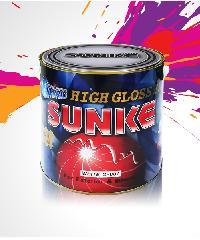 SUNKE สีเคลือบเงา G501 สีน้ำเงิน