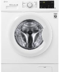 LG เครื่องซักผ้าฝาหน้า LG 8 กก. รุ่น FM1208N6W เครื่องซักผ้าฝาหน้า LG 8 กก. รุ่น FM1208N6W