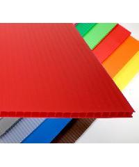 - ฟิวเจอร์บอร์ด ขนาด 3 มม.130x245 ซม. STA สีแดง