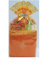 ศรัทธาธรรม ชุดสังฆทานย่าม - สีส้ม