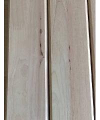 GREAT WOOD ฝ้าระแนงไม้ยางพาราจ๊อยส์(1x5ตัว) B 1/2x4x1.00 ม.BC