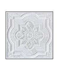 VGB ฝ้ายิปซั่มลาย ขนาด 60x60 ซม. S009 A.วิคตอรี่ สีขาว