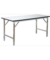 SBL โต๊ะอเนกประสงค์ขาพับได้ ขนาด 45x150x75 ซม. โต๊ะพับ TF-1860 สีขาว