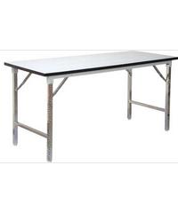 SBL โต๊ะอเนกประสงค์ขาพับได้ ขนาด 60x120x75 ซม. โต๊ะขาพับ TF-2448 สีขาว