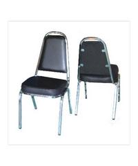 SBL เก้าอี้จัดเลี้ยง มีหู หุ้มหนังสีน้ำตาล เก้าอี้ CM-002 มีหู สีน้ำตาล สีน้ำตาล