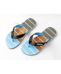 USUPSO รองเท้าแตะผู้ชาย No.41 สีฟ้า -