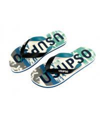 USUPSO รองเท้าแตะผู้ชาย Sports Camo No.42 สีฟ้า -