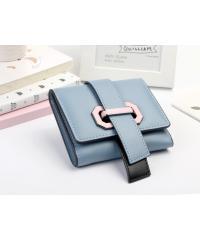 USUPSO  กระเป๋าเงินผู้หญิง  - สีฟ้า