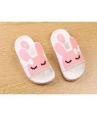 USUPSO USUPSO รองเท้าแตะเด็ก Bunny สีขาว -29 -