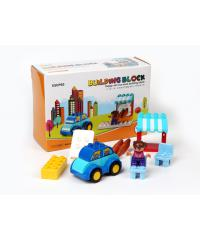 USUPSO ชุดของเล่นตัวต่อ building block 001 - สีขาว