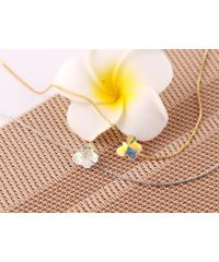 USUPSO สร้อยคอ Butterfly Crystal -