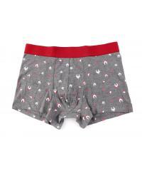 USUPSO  กางเกง Boxer สีเทา-XL -