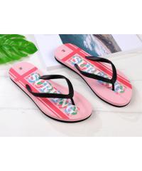 USUPSO  รองเท้าแตะผู้หญิง No.38 - สีชมพู