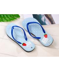 USUPSO รองเท้าแตะผู้หญิง No.37 สีฟ้า -