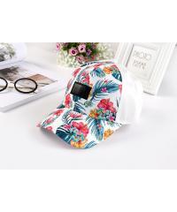 USUPSO หมวก Tropical style series สีขาว -