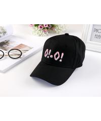 USUPSO  หมวกแก๊ป Spring and summer  - สีดำ