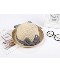 USUPSO หมวก Bow top สีแอปริค็อต -